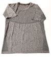 USED Nike Women's Top Small Gray