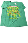 NEW Nickelodeon Men's Shirt X-Large Green / Print
