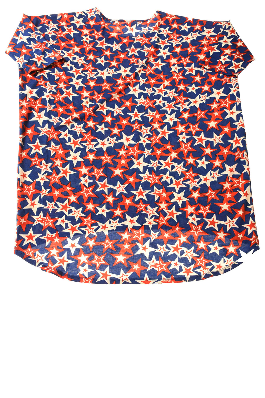 NEW Lula Roe Women's Top Medium Multi-Color / Star Printed