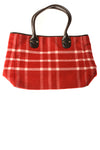 USED Talbots Women's Handbag N/A Red / Plaid