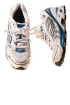 USED Saucony Women's Shoes 8 White & Blue