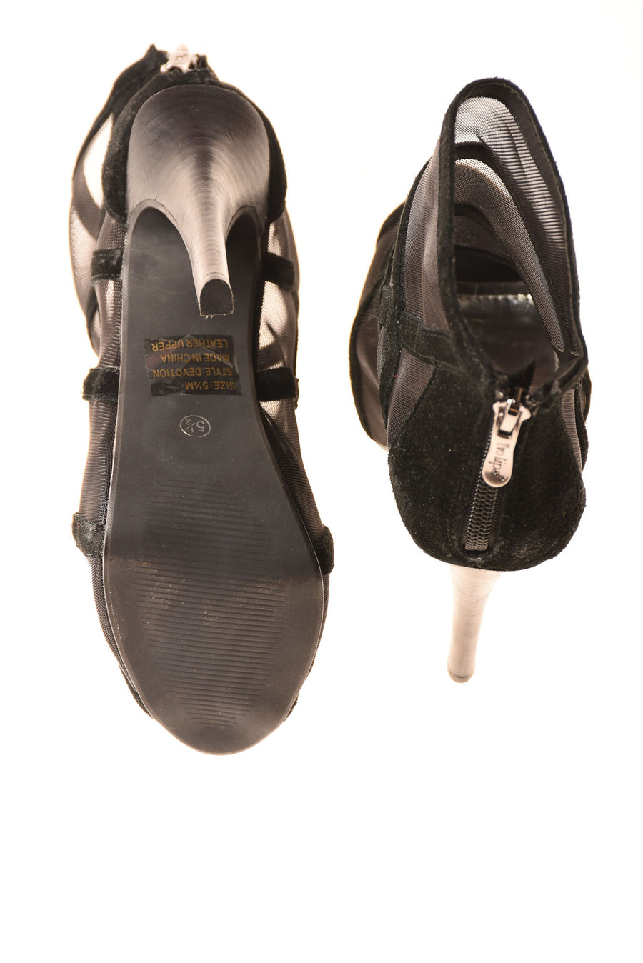 USED Two Lips Women's Shoes 5.5 Black