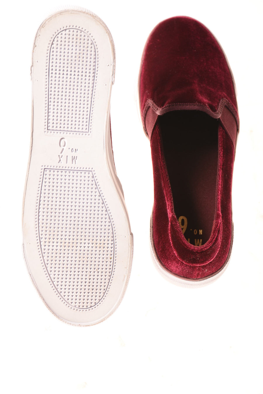 USED Mix Number 6 Women's Shoes 7 Maroon