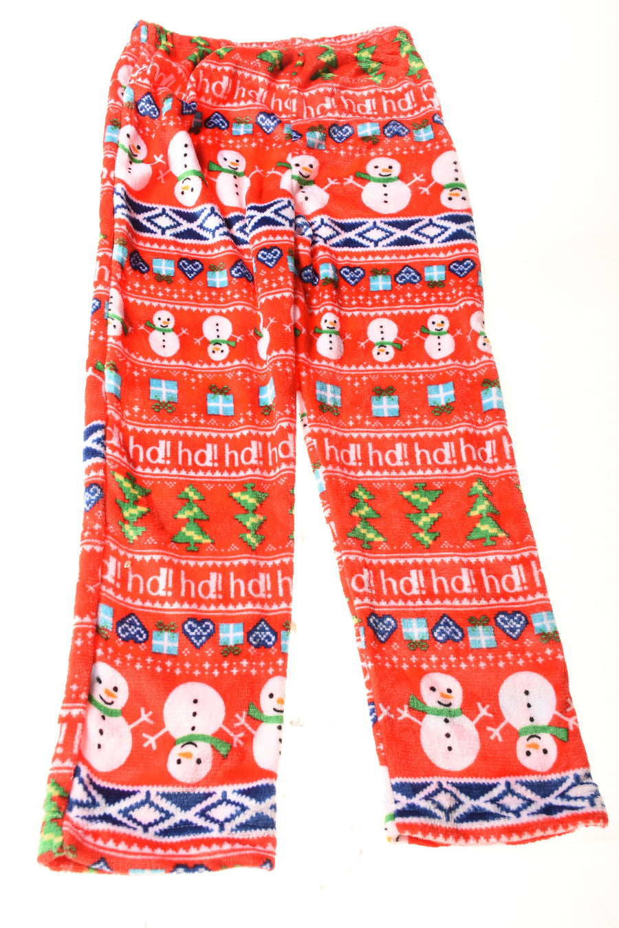 Women's Christmas Print Pajama Pants By No Brand
