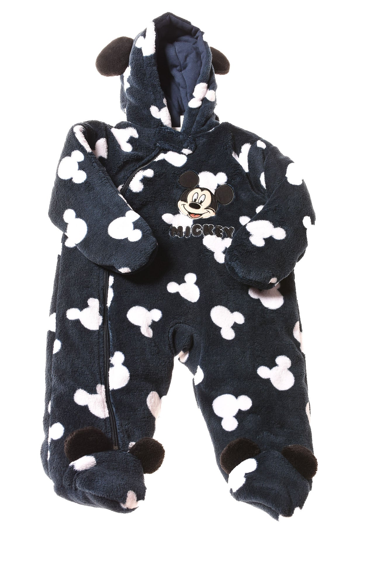 e5201a3df USED Disney Baby Baby Boy's Snowsuit 6 Months Navy & White - Village ...