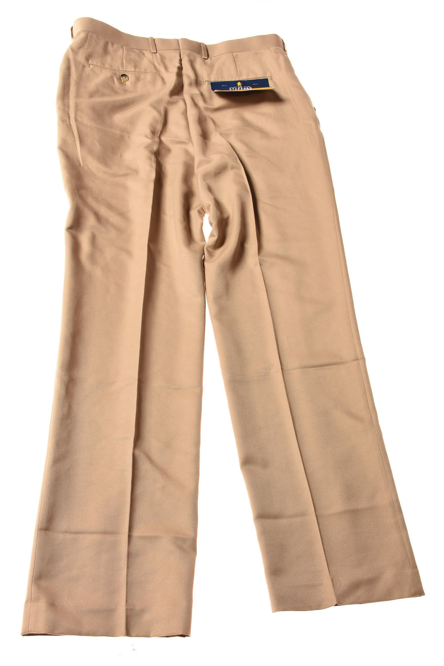 NEW Stafford Men's Slacks 36x34 Khaki