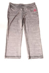 NEW Reebok Girl's Slacks 12 Gray / Print