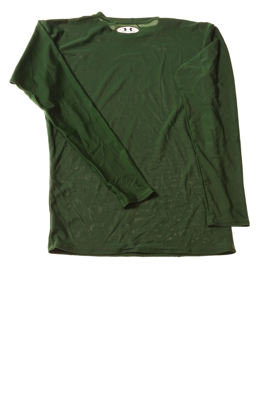 USED Under Armour Boy's Shirt Large Green