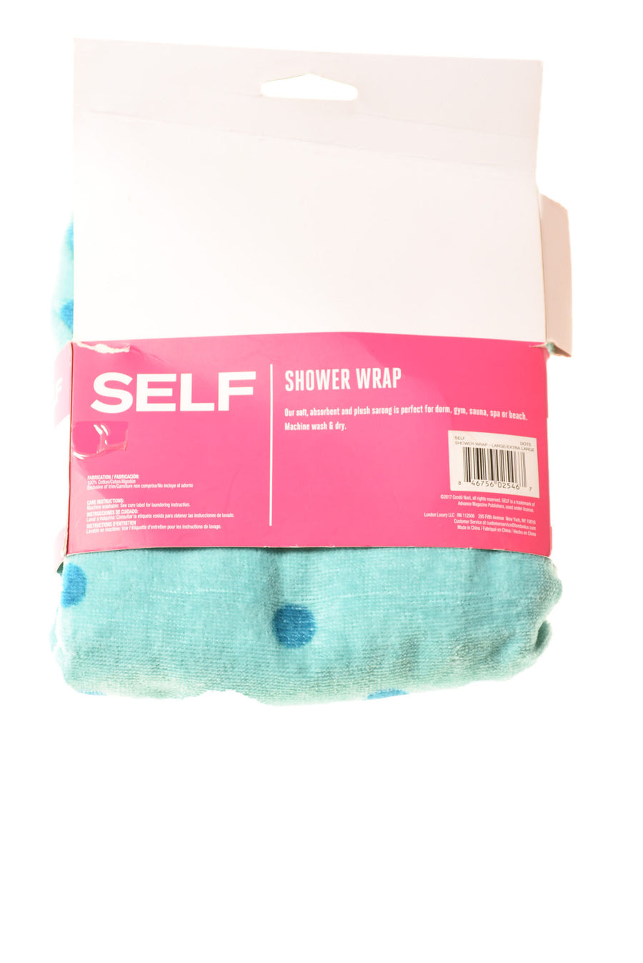 Women's Shower Wrap By Self