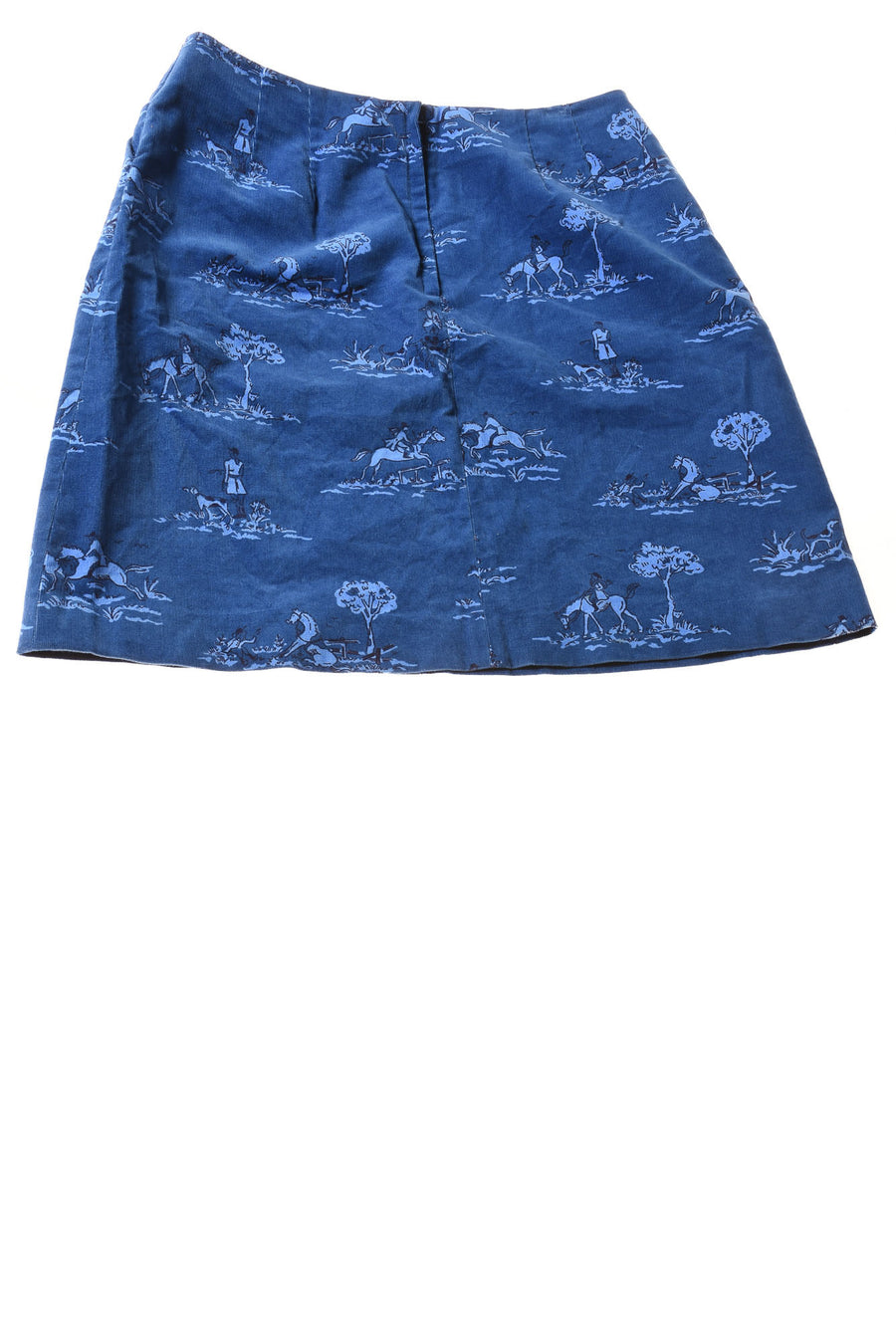 USED Lilly Pulitzer Women's Skirt 8 Blue / Print
