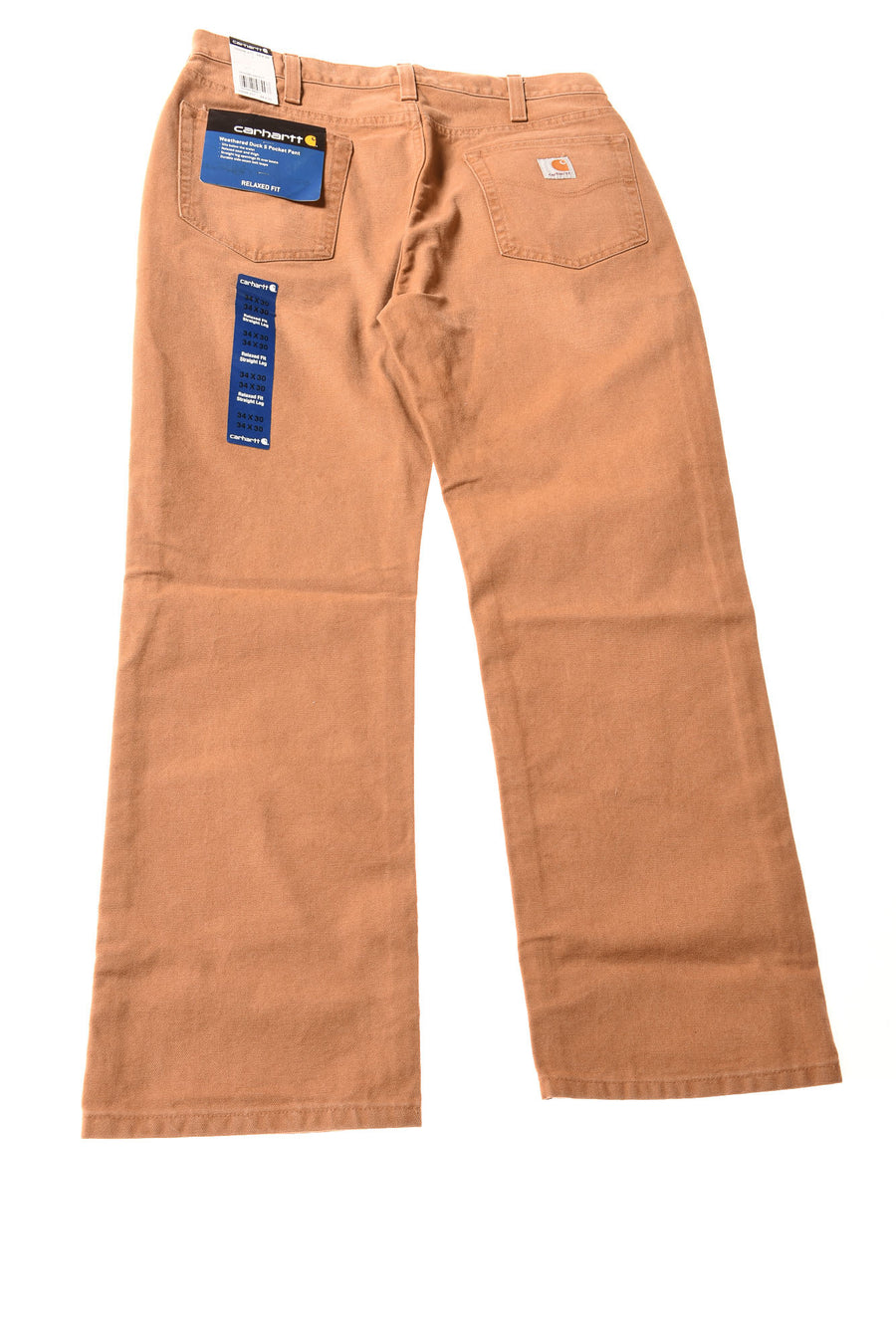 NEW Carhartt Men's Jeans 34x30 Brown