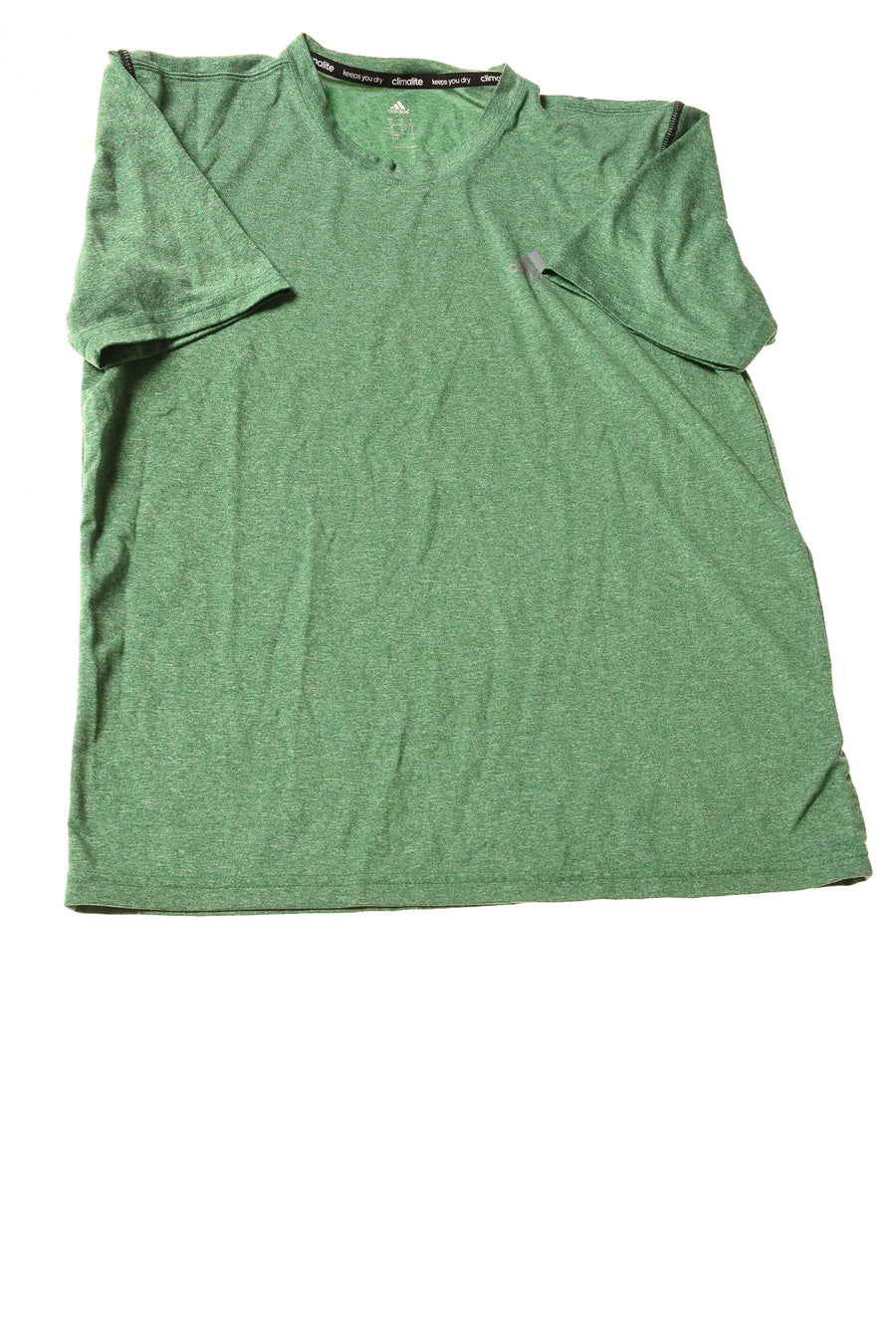 USED Adidas Men's Shirt Small Green