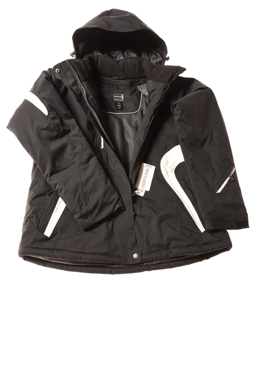 NEW North End Sport Women's Jacket X-Large Black
