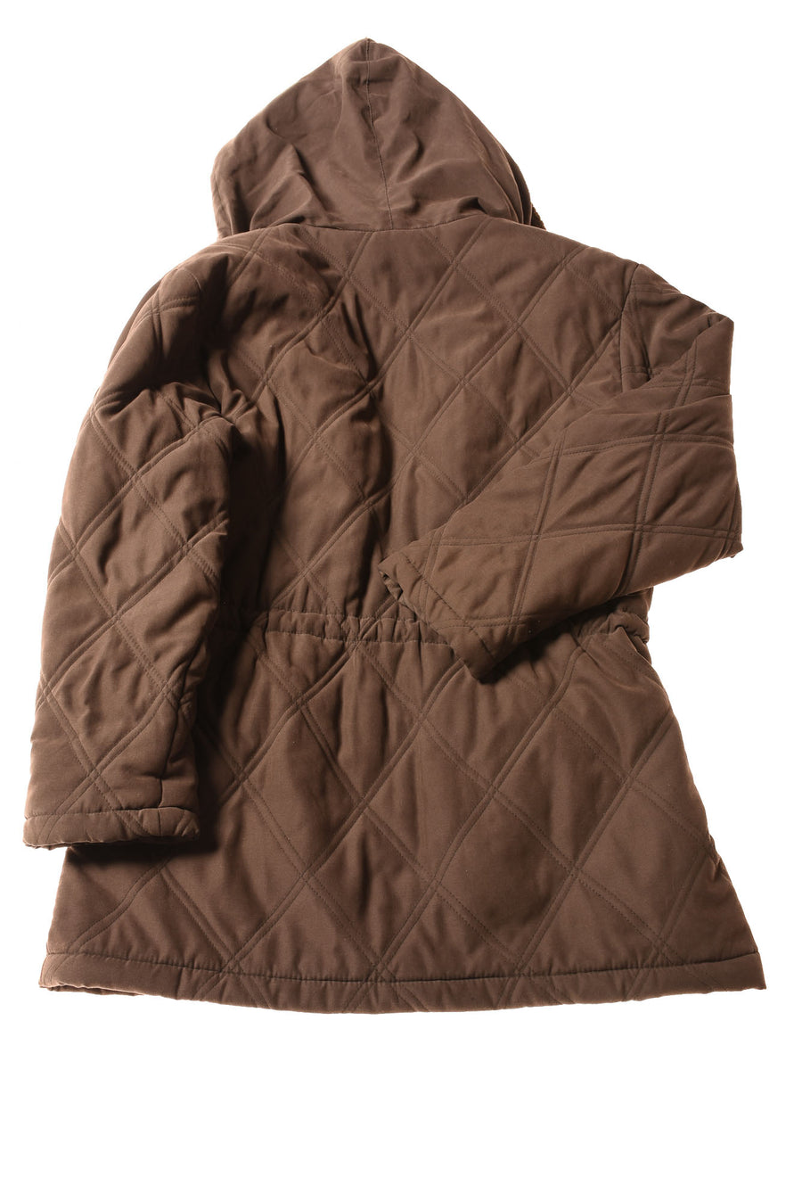 USED Larry Levine Women's Coat Small Brown
