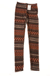 NEW See You Monday Women's Leggings Small Multi-Color / Print