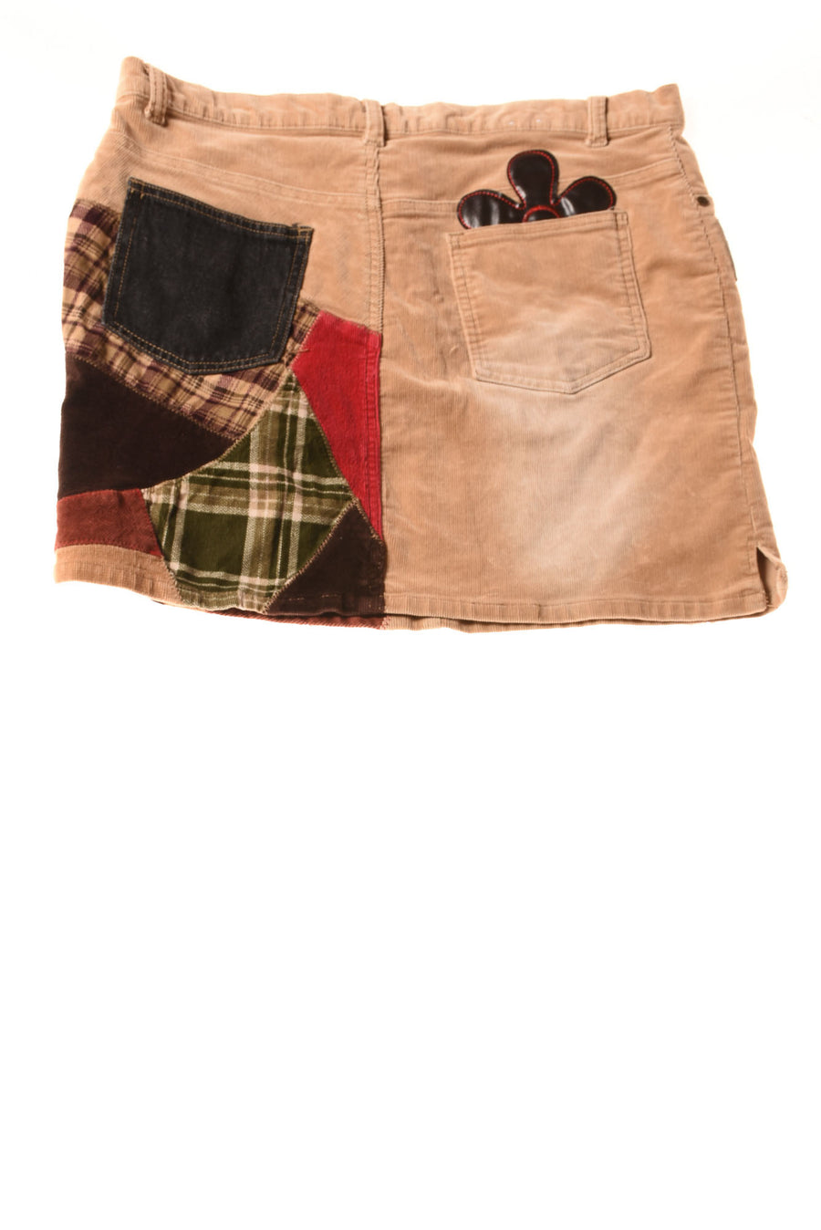 USED Gypsy Jeans Women's Skirt 9/10 Brown / Print