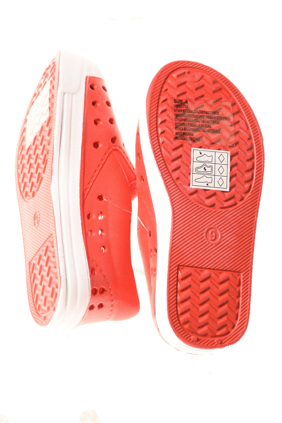 NEW Gymboree Boy's Shoes 9 Red