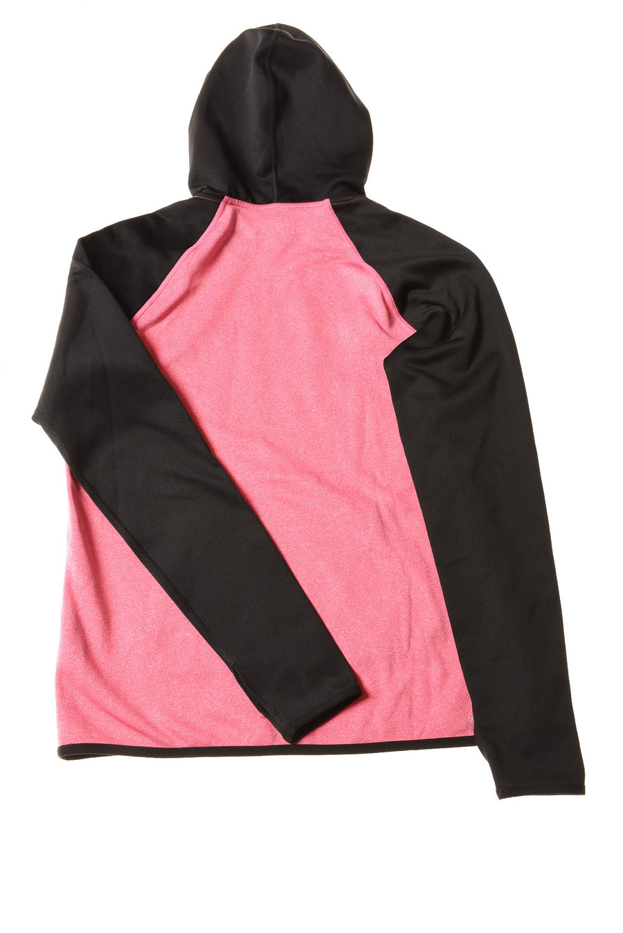 USED Nike Women's Hoodie Small Pink & Black / Print