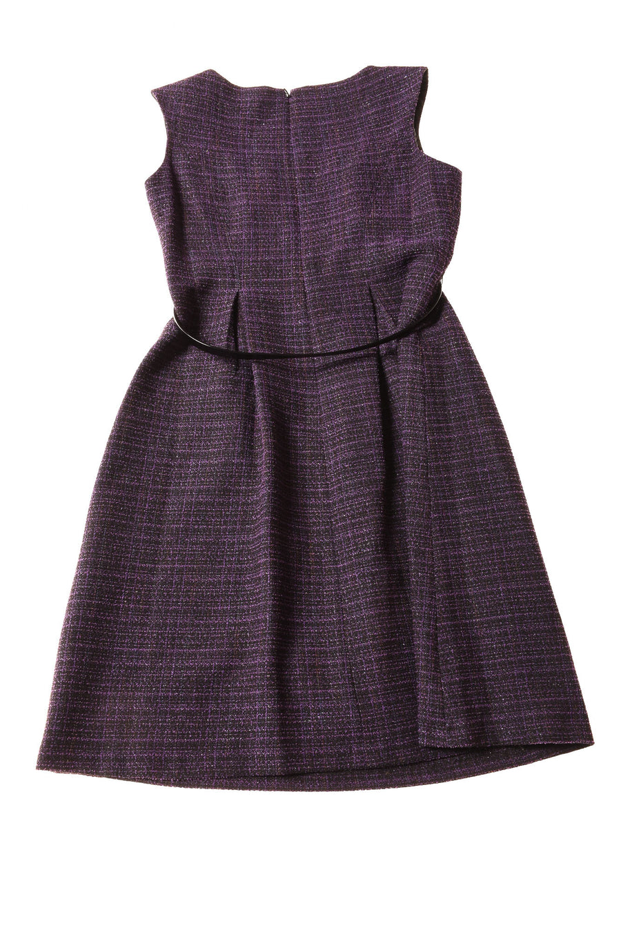 USED Kasper Women's Dress 6 Purple & Black / Print