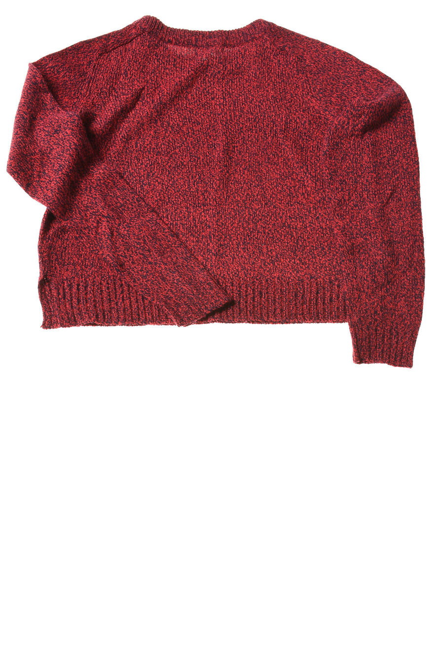 USED Divided Women's Sweater X-Small Red & Navy