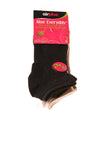 NEW Airplus Women's Socks 5-11 Black & White & Tan