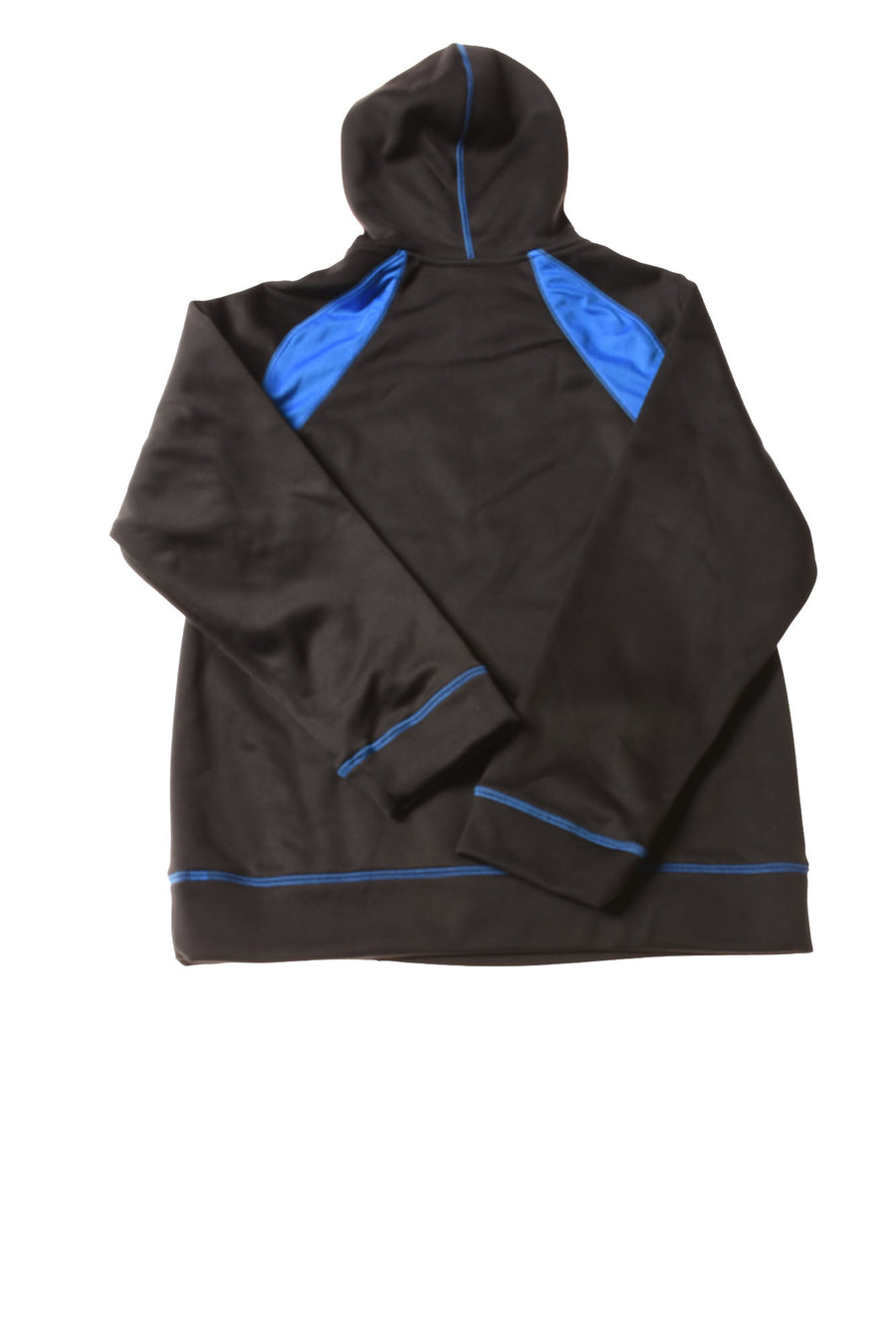 USED Nike Boy's Hoodie Large Black & Blue