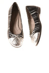 USED Aerosoles Women's Shoes 8 Black & Silver