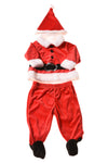 USED Carter's Baby Boy's Santa Suit 3-6 Months Red