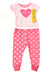 NEW No Brand Baby Girl's Sleep Set 12 Months Pink / Print