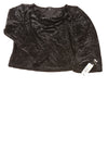 NEW Briggs New York Women's Top 1X Black / Metallic