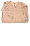 NEW Worthington Women's Sweater 3X Tan & Gold