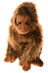 USED Ty Stuffed Monkey N/A Brown
