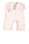 NEW Old Navy Baby Girl's Romper 0-3 Months White / Print