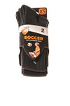 NEW SofSole Boy's Soccer Socks X-Small Black