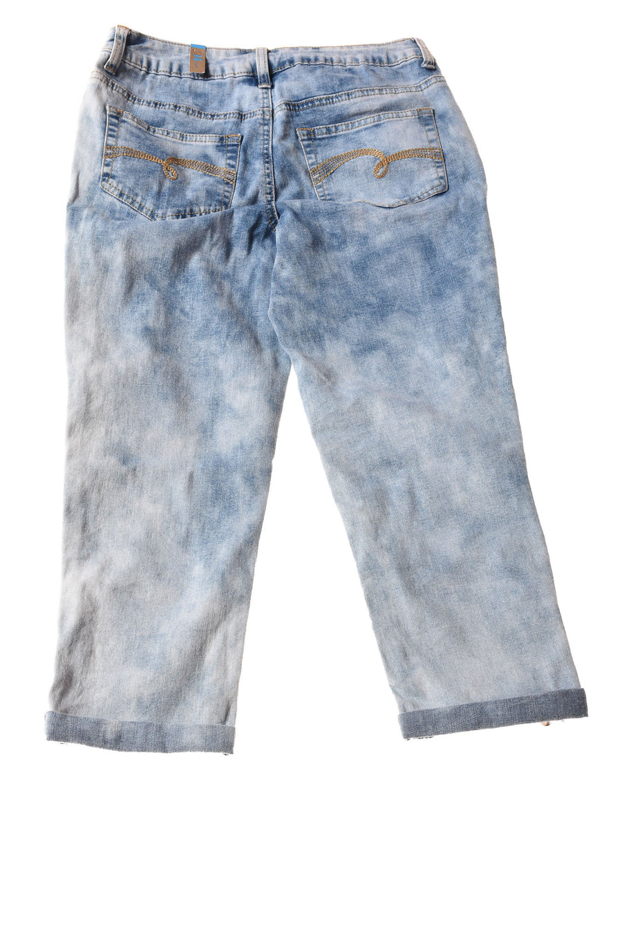NEW Justice Girl's Jeans 14 Regular Blue / Print