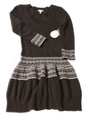 NEW Bongo Women's Junior Dress Small Black & White /Print