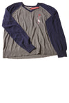 NEW Merona Men's Sweater XX-Large Gray & Blue