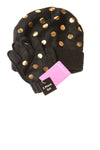 NEW Berkshire Women's Hat One Size Black / Polka Dot
