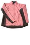 USED DDX Women's Jacket Large Pink & Gray