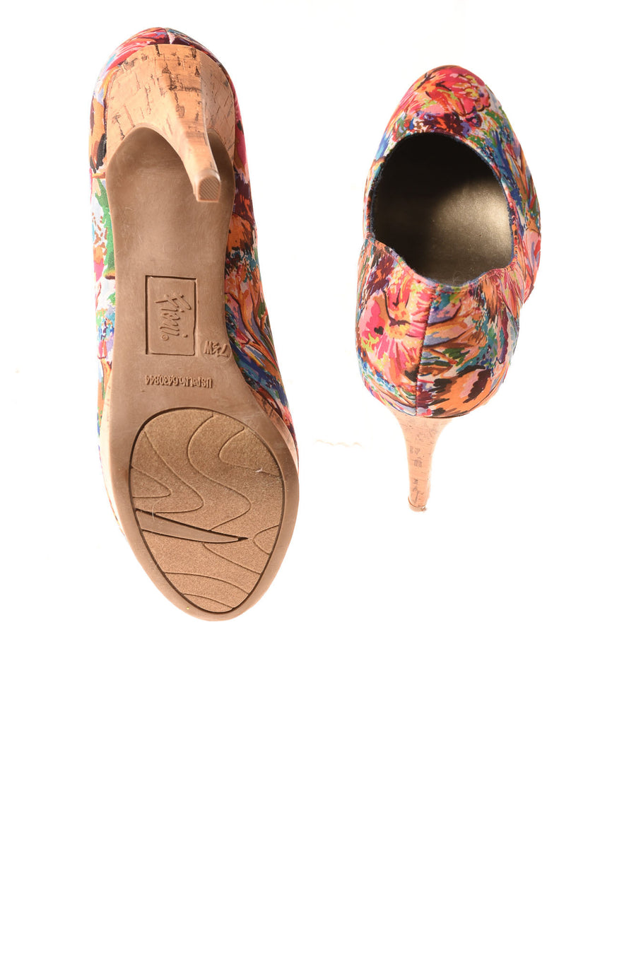 USED Fioni Women's Shoe 7.5 Floral