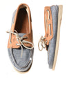 USED Sperry Men's Shoes 9 Denim / Brown