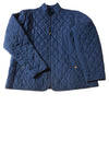 USED Lands' End Women's Coat 14/16 Blue