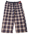 NEW Merona Men's Sleep Pants X-Large Blue / Plaid