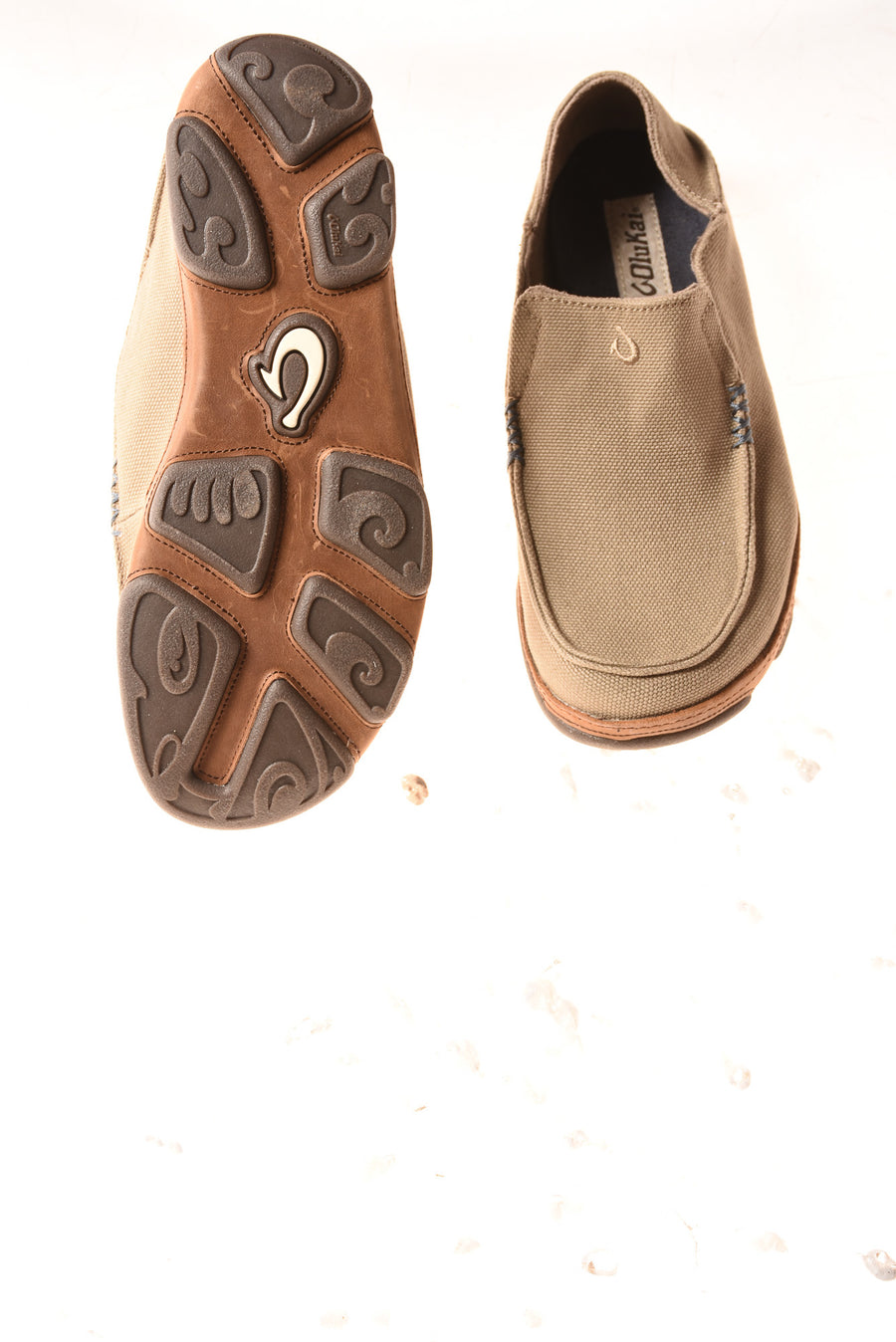 USED Olukai Men's Shoes 8 Light Brown