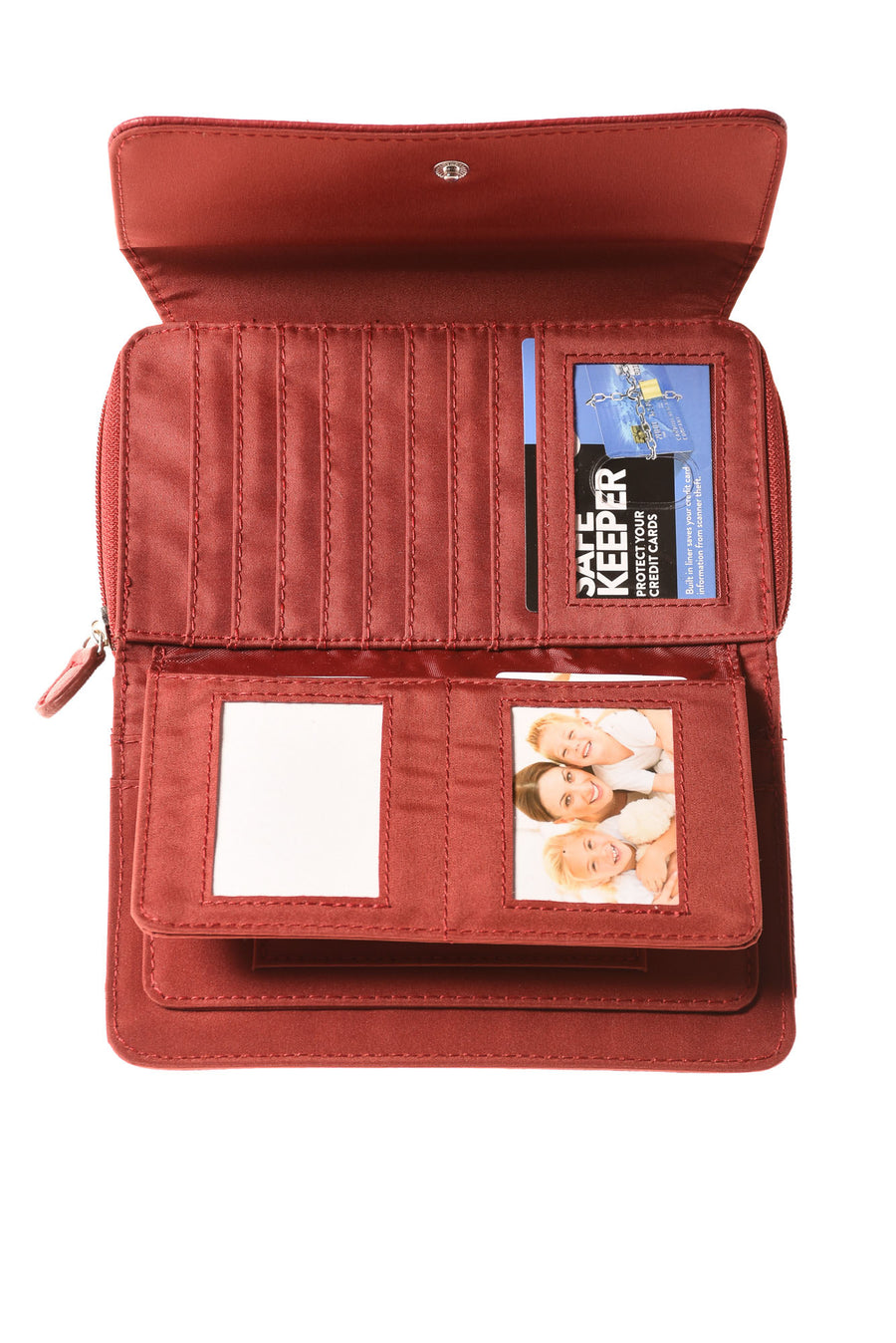 USED Safe Keeper Women's Wallet N/A Red
