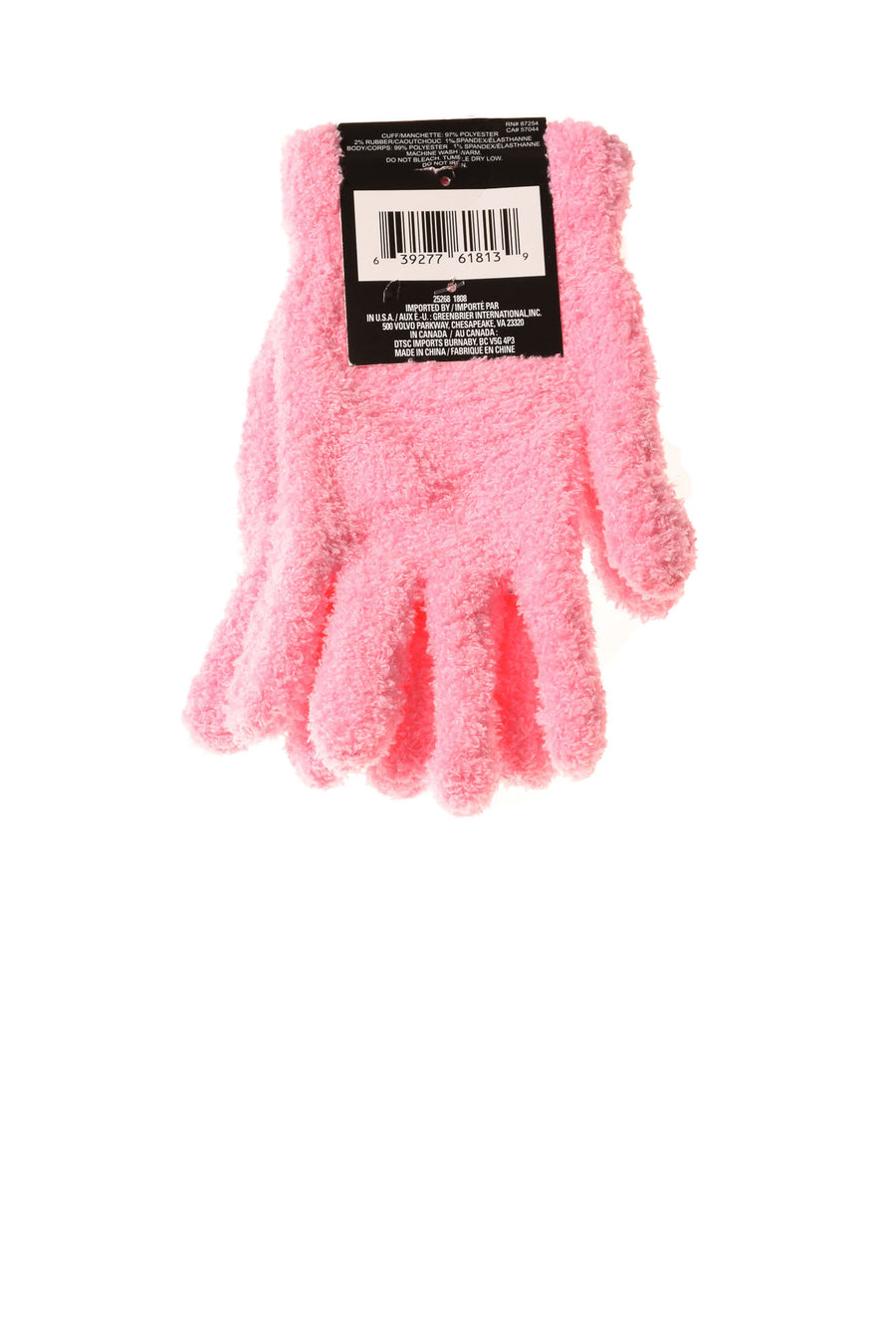 NEW Snugadoo Too Women's Gloves One Size Pink