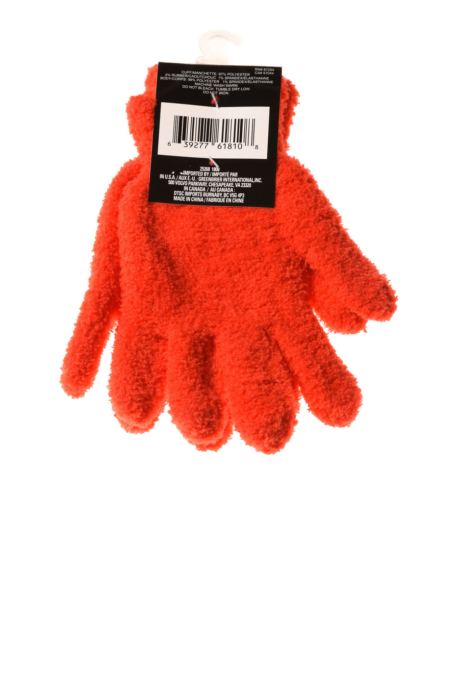 NEW Snugadoo Too Women's Gloves One Size Red