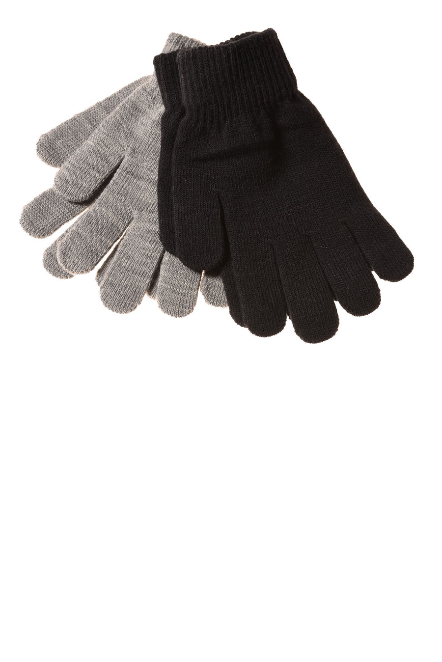 NEW No Brand Women's Gloves One Size Black & Gray