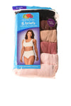 NEW Fruit Of The Loom Women's Briefs 9 Multi-Color