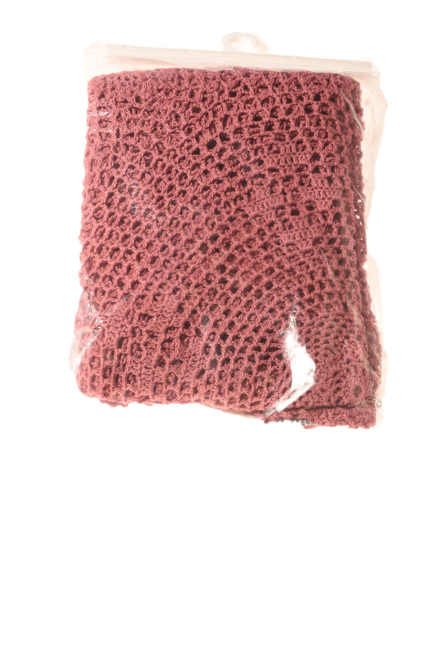 NEW L. Kee & Co. Crochet Table Topper N/A Mauve